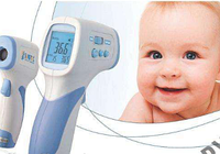 Бесконтактный инфракрасный термометр - Градусник универсальный пирометр для измерение температуры тела