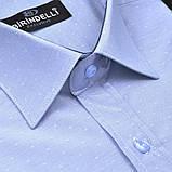 Сорочка чоловіча, прямого покрою, з коротким рукавом Birindelli 03-141 80% бавовна 20% поліестер M(Р), фото 2