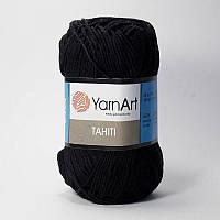 Yarnart Tahiti № 211 черный