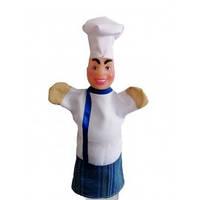"""Лялька-рукавиця """"ПОВАР"""" (пластизоль, тканина)"""