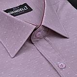 Сорочка чоловіча, прямого покрою, з коротким рукавом Birindelli 03-150 80% бавовна 20% поліестер L(Р), фото 2