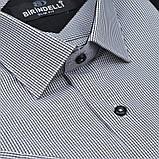 Сорочка чоловіча, приталена (Slim Fit), з коротким рукавом Birindelli в клітинку 014000148 80% бавовна 20%, фото 2