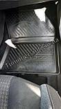 Ковры в салон PEUGEOT 3008, 2017->, SUV, 4 шт. (полиуретан) 3D ELEMENT3D3835210k, фото 7