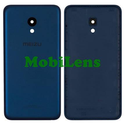 Meizu M5, M5 mini, M611H, M611A Задняя крышка синяя, фото 2