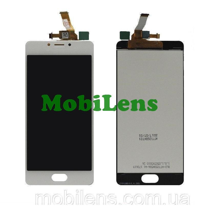 Meizu M5C, M710H Дисплей+тачскрін(модуль) білий