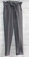 """Брюки подростковые шерстяные с высокой посадкой на девочку 146-158 см """"SATIN"""" недорого от прямого поставщика"""