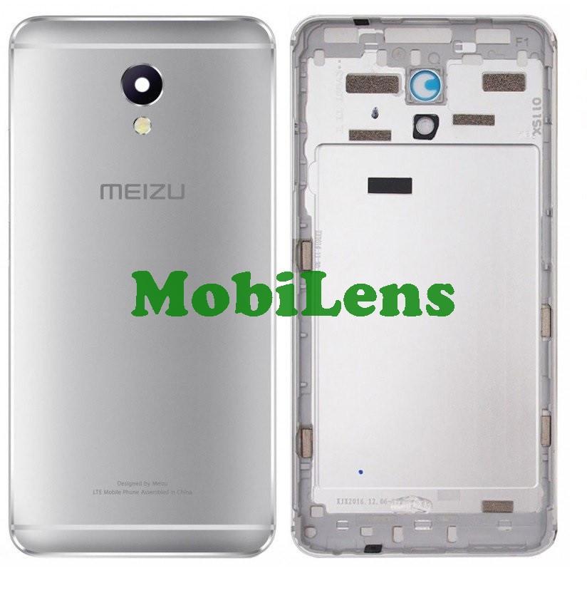 Meizu M5 Note, M621H, M621Q Задняя крышка серебристая