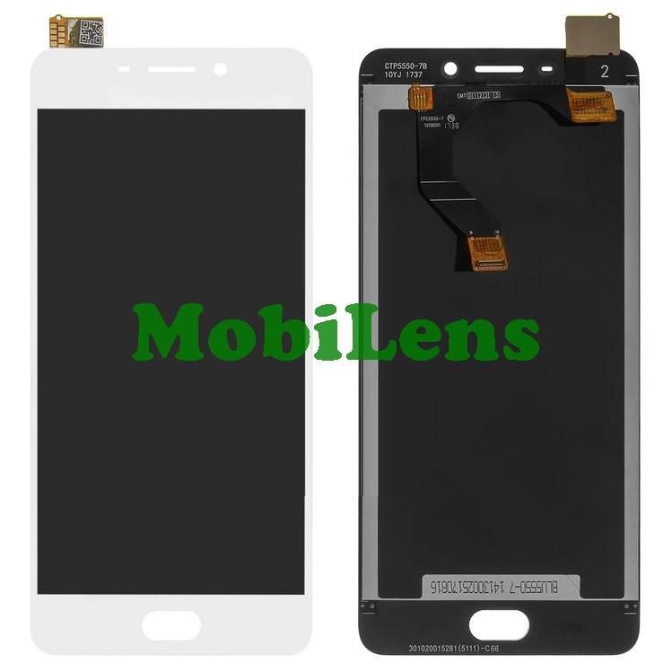 Meizu M6 Note, M721H Дисплей+тачскрин(модуль) белый