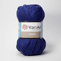 Yarnart Tahiti № 214 синий