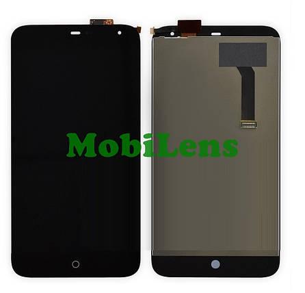 Meizu MX3, M351 Дисплей+тачскрін(модуль) чорний, фото 2