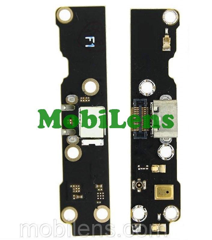 Meizu MX3, M351 Шлейф з роз'ємом зарядки і мікрофоном