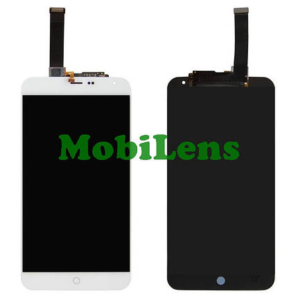 Meizu MX4, M461, (5.3 дюймов) Дисплей+тачскрин(модуль) белый, фото 2