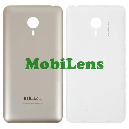 Meizu MX4 Pro, (5.5 дюймов), M462 Задняя крышка золотистая, фото 2
