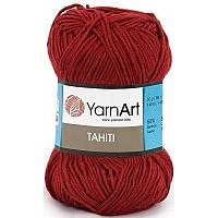 Yarnart Tahiti № 216 красный