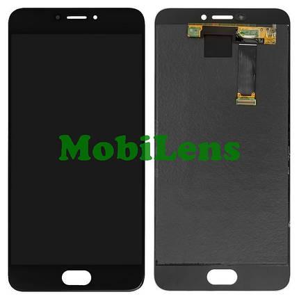 Meizu MX6, M685H Дисплей+тачскрин(модуль) черный Original *PRC, фото 2