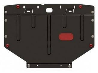 Защита Nissan Leaf (2010>) (двс+кпп+рад, из 2-х частей) (Щит) Двигателя картера подона
