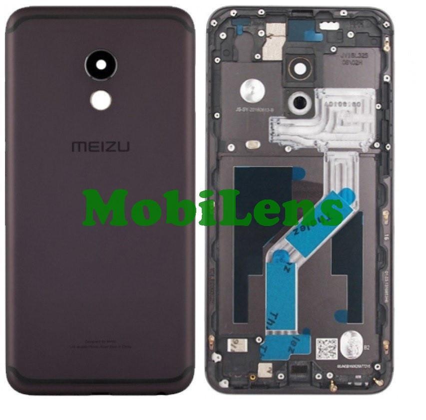 Meizu Pro 6, Pro 6S, M570H Задняя крышка черная