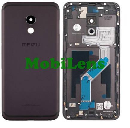 Meizu Pro 6, Pro 6S, M570H Задняя крышка черная, фото 2