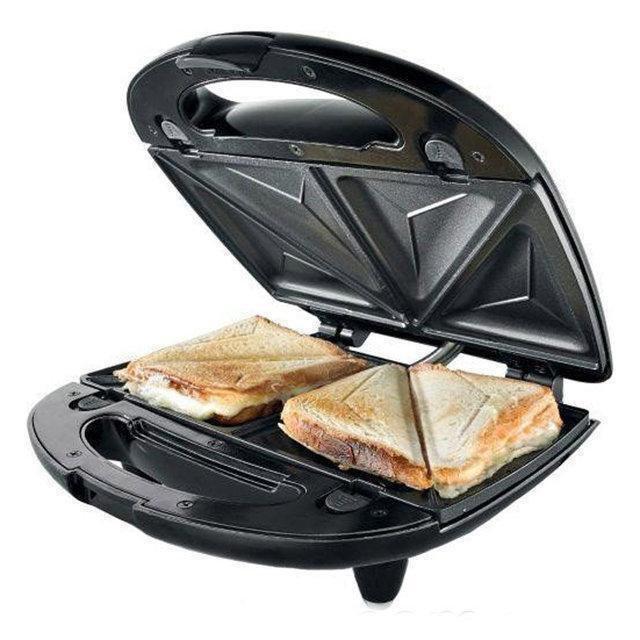 Бутербродниця, вафельниця, горішниця, гриль DOMOTEC MS-7704 (4в1)