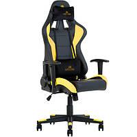 Кресло игровое для компьютера HEXTER (ХЕКСТЕР) ML R1D TILT PL70 01 black/yellow
