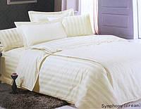 Комплект постельного белья Le Vele Symphony cream жаккардовое сатин 220-160 см