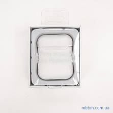 Чехол silicone Airpods 2 Ultra Slim white, фото 2