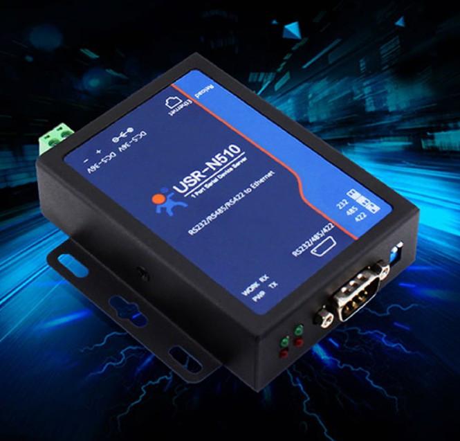 Перетворювач порту N510 RS232/485/422 в Ethernet