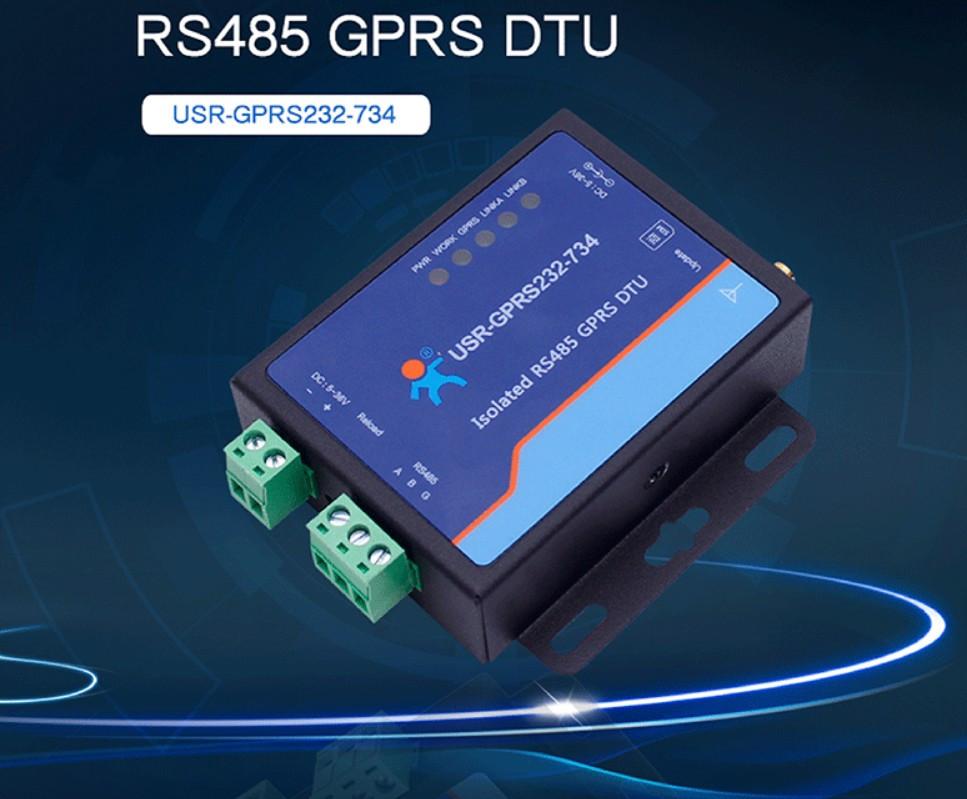 Преобразователь порта USR-GPRS232-734 RS485 GSM в GPRS