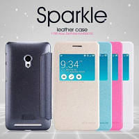 Чехол для телефона Nillkin Sparkle Series for Asus Zenfone 5 White