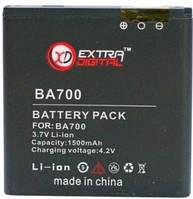 Батарея к мобильному телефону Extradigital Sony Ericsson BA700, 1500 mAh (BMS6345)