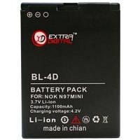 Батарея к мобильному телефону Extradigital Nokia BL-4D, 1150 mAh (BMN6269)