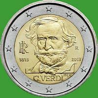 Італія 2 євро 2013 р. 200 з дня народження Джузеппе Верді. UNC