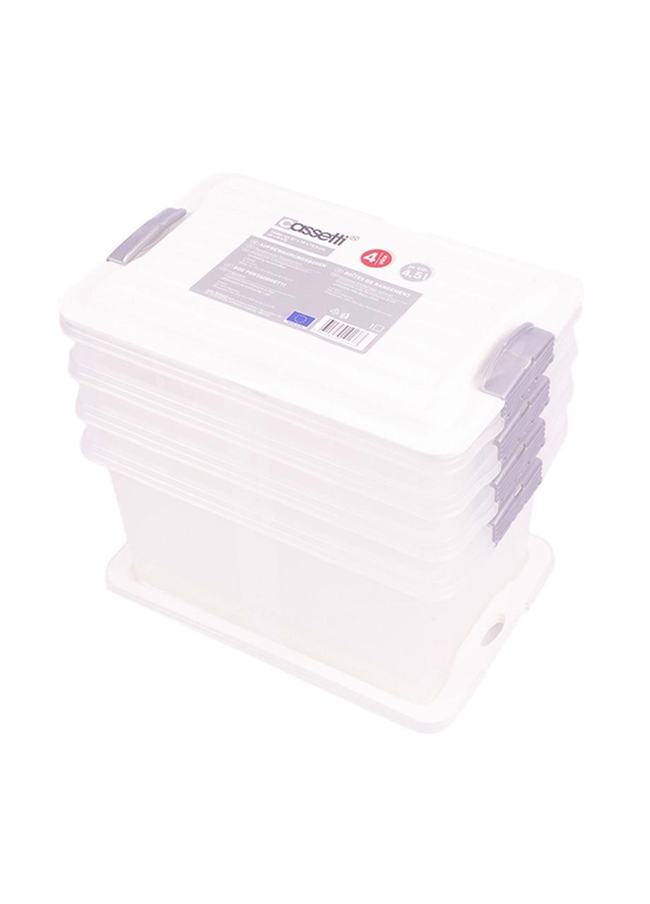 Ящики для хранения Lidl 4 шт