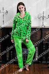 Женские махровые пижамы