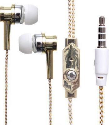 Навушники вакуумні з мікрофоном DK75i, дротові навушники хорошої якості