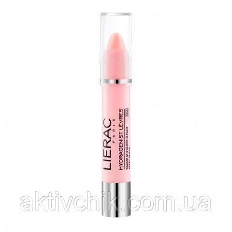 Лиерак Гидраженист Бальзам для губ с розовым блеском Lierac Hydragenist Lèvres Baume Nutri-Repulpant