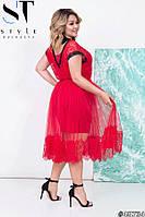 Платье двойка , размеры 48, 50, 52, 54, 56, 58, 60, 62, 64
