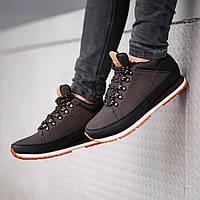 Мужские ботинки в стиле New Bаlance brown на меху (Реплика ААА+)
