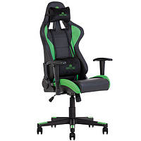 Кресло игровое для компьютера HEXTER (ХЕКСТЕР) ML R1D TILT PL70 01 black/green