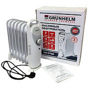 Масляний радіатор Grunhelm GR-0708 800 Вт 7 секцій
