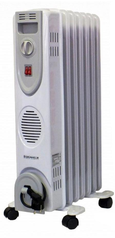 Масляний радіатор Grunhelm GR-0715 1500 Вт 7 секцій