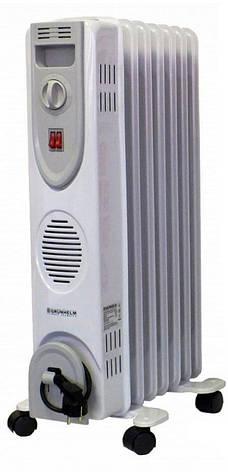 Масляний радіатор Grunhelm GR-0715 1500 Вт 7 секцій, фото 2