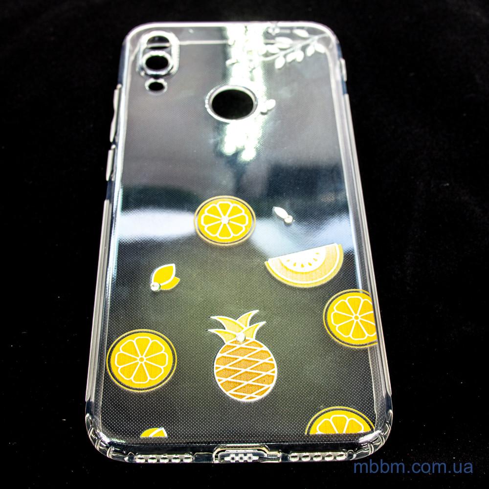 Накладка TPU Luxury Diamond Protective Xiaomi Redmi Note 7 желтый Желтый