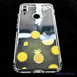Накладка TPU Luxury Diamond Protective Xiaomi Redmi Note 7 желтый/тропические фрукты, фото 4