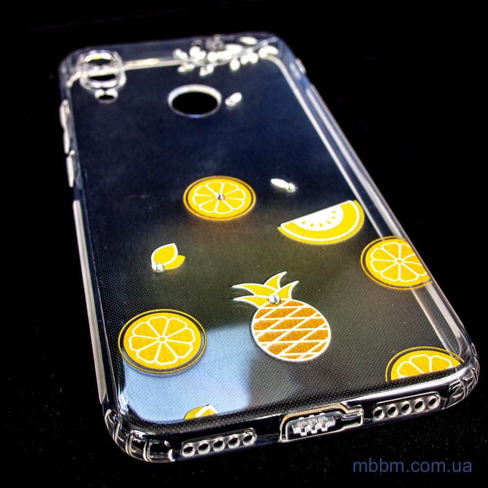 Чехлы для Xiaomi Redmi Note 7 TPU Luxury Diamond Protective желтый
