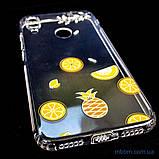 Накладка TPU Luxury Diamond Protective Xiaomi Redmi Note 7 желтый/тропические фрукты, фото 7