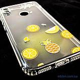 Накладка TPU Luxury Diamond Protective Xiaomi Redmi Note 7 желтый/тропические фрукты, фото 9