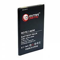 Батарея к мобильному телефону Extradigital Samsung Galaxy NOTE 3 mini, 3100 mAh (BMS1161)
