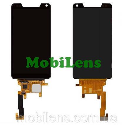 Motorola XT890, Razr i, Razr M, XT907, XT905 Дисплей+тачскрин(модуль) черный, фото 2