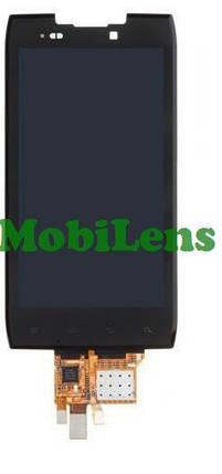Motorola XT910, XT912, Razr Дисплей+тачскрин(модуль) черный, фото 2